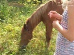 Liza tames a stallion