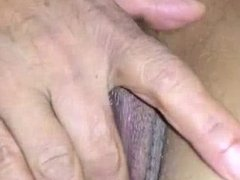 Mature Indian Fingering Her Shaved Pussy