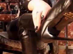 Femdom boot fetish 02