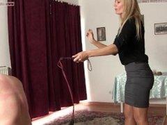 Mistress Demona cruel whipping