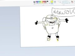 how to draw an overwatch minion