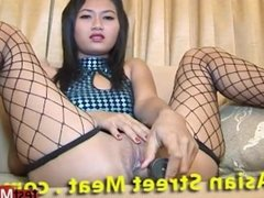 Asian pornstar anal and cumshot