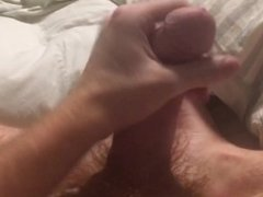 Me jerk and cum