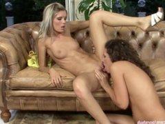 Brandy and Dominika in a nice lesbian scene by Sapphic Erotica