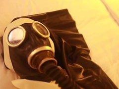 female mask gas mask