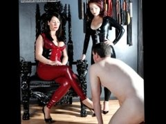 Lesbian Couples with Male Slaves - Femdom Fantasy