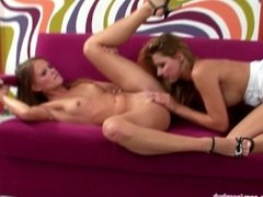 Jo and Klaudia in a nice lesbian scene by Sapphic Erotica