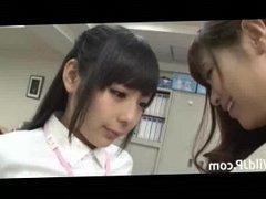 Office Lesbian Women Japanese