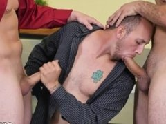 Very handsome men on men gay sex videos CPR man-meat throating and naked