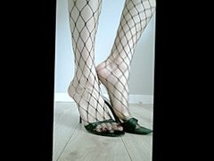 Tranny sissy legs and feet