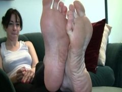 Katie's Candid Stinky Soles Part 9