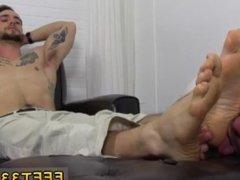 Sexy jamaican gay boys porn KC enjoys to have his feet serviced and got a