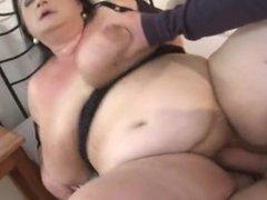 Bbw granny huge titties