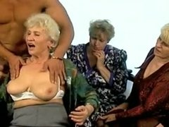 Grannies sharing boy toy
