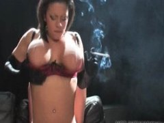 Alexis Silver Smoking