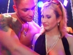 Bisexual pornstar babes fucking in public