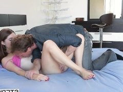 Alice March gets slammed by her stepfather