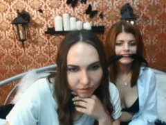 2 Girls Webcam Bondage