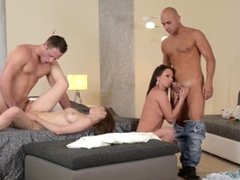 Group Sex - Gorgeous College Girls Fucked ultra Hardcore