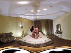 VR Porn Raw brunette and readhead duo bdsm sex  Virtual Porn 360