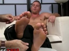 Gay porn foot fetish young and fisting with foot gay Scott Has A New Foot