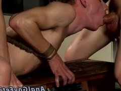 Gay bondage fag and gay bondage massage video Sean and Reece are always