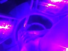 Tanning Bed jacking off
