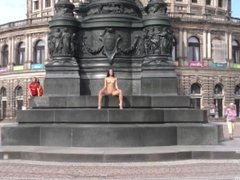 NIP Activity girl Kira Showing in Public