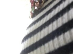 Mandy's heart pin 2 undulating under her tit