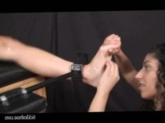 F/f racked tickle torture (feet)