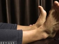 Young hot gay twin sex Tyrell's Sexy Feet Worshiped