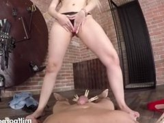 Pov With Busty Cougar Angel Wicky