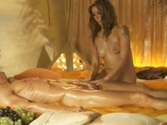 Golden Turkish Handjob Massage MILF