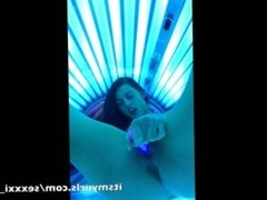 toy play in tanning bed