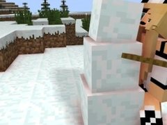 Minecraft its winter [Sebie X Snowman]