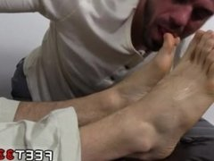 Daddy bear old man gay porn fisting KC's New Foot & Sock Slave
