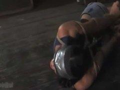 Wenona gagged blindfolded