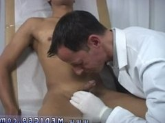 Gay video fucking doctors fucking each other and medical exam fetish male