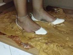 Ballet Flats Stuck in Glue