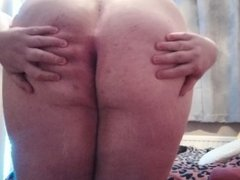 Chubby Teen ass play! Tell me what would you do to me?