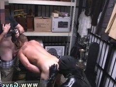 Straight gang gets blowjob by gay xxx Dungeon tormentor with a gimp
