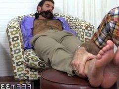 Hard homo gay porn Chase LaChance Tied Up, Gagged & Foot Worshiped
