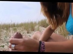 French bikini teen fucking at beach