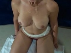Cheating wife caught sucking sucks a second one