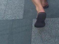 Sexy Feet Cute Soles & Toes in Flip Flops
