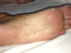Aunt Feet and Soles, pussy and ass... Candid