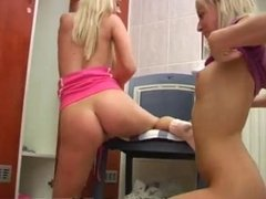 Lesbian teen rough hd and amateur teen couple first time Young lezzies