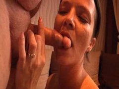 his wife blowjob fatman