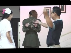 Nurse & Military Girl Bondage Photoshoot