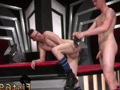 Bloody gay fisting Axel Abysse and Matt Wylde bathe each other in a